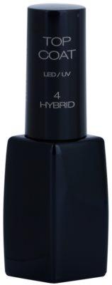 Pierre René Nails Hybrid закріплювач для гелевих нігтів з глянцевим ефектом