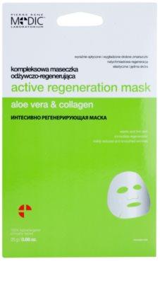 Pierre René Medic Laboratorium regeneracijska maska za obraz z hranilnim učinkom