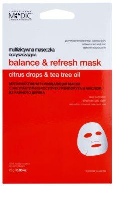 Pierre René Medic Laboratorium máscara facial de limpeza profunda
