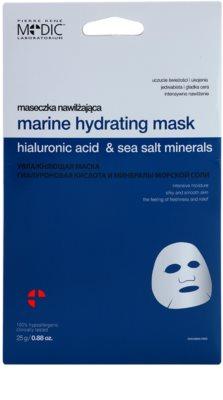 Pierre René Medic Laboratorium feuchtigkeitsspendende Gesichtsmaske mit Meeresmineralien