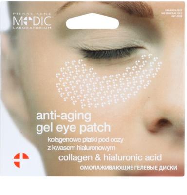 Pierre René Medic Laboratorium almohadillas de gel antienvejecimiento para contorno de ojos