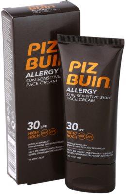 Piz Buin Allergy napozókrém arcra SPF 30 1