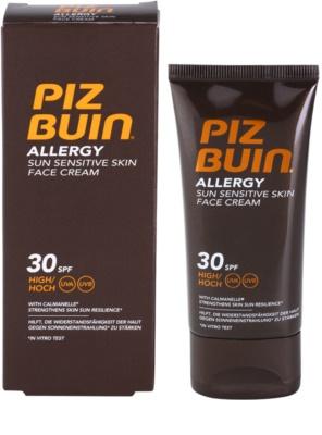 Piz Buin Allergy napozókrém arcra SPF 30 2