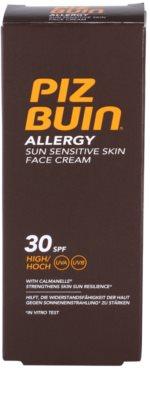 Piz Buin Allergy napozókrém arcra SPF 30 3