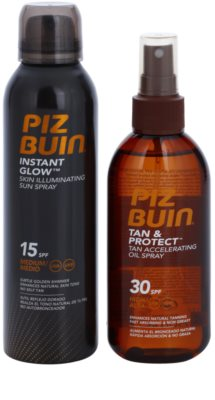 Piz Buin Instant Glow zestaw kosmetyków I.