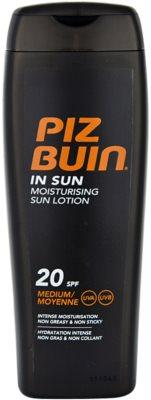Piz Buin In Sun зволожуючий крем для засмаги SPF 20