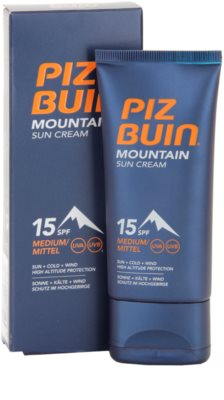 Piz Buin Mountain Sonnencreme SPF 15 1