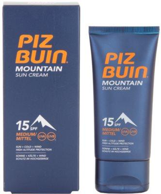 Piz Buin Mountain krem do opalania SPF 15 2