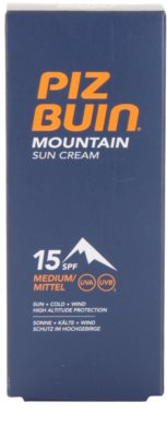 Piz Buin Mountain Sonnencreme SPF 15 3