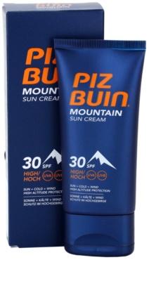 Piz Buin Mountain crema de soare pentru fata SPF 30 1