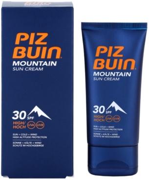 Piz Buin Mountain crema de soare pentru fata SPF 30 2