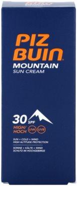 Piz Buin Mountain crema de soare pentru fata SPF 30 3