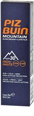 Piz Buin Mountain creme protetor 2 em 1 para rosto e lábios SPF 30 2