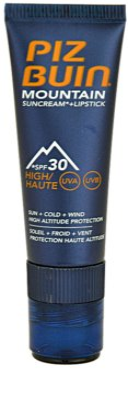 Piz Buin Mountain creme protetor 2 em 1 para rosto e lábios SPF 30 1