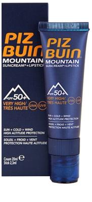 Piz Buin Mountain schützendes Balsam SPF 50+