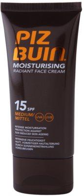 Piz Buin Moisturising feuchtigkeitsspendende Gesichtscreme SPF 15