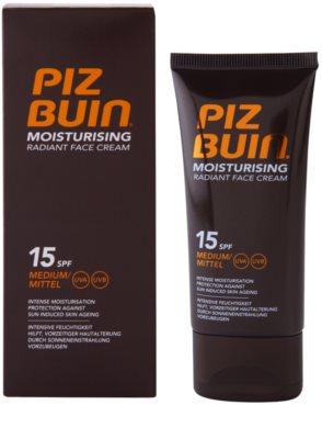 Piz Buin Moisturising feuchtigkeitsspendende Gesichtscreme SPF 15 1