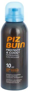Piz Buin Protect & Cool bőrfrissítő napozó hab SPF 10