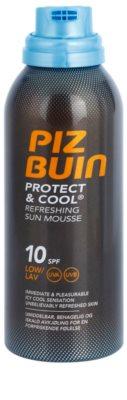 Piz Buin Protect & Cool osvežilna pena za sončenje SPF 10 1