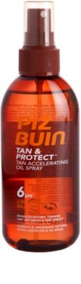 Piz Buin Tan & Protect óleo protetor para acelerar o bronzeado SPF 6