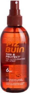 Piz Buin Tan & Protect schützendes Öl für schnellere Bräune SPF 6 1