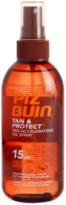 Piz Buin Tan & Protect захисна олійка для швидкої засмаги SPF 15