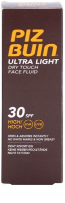 Piz Buin Ultra Light Hautfluid SPF 30 3