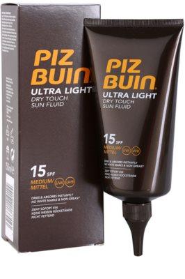 Piz Buin Ultra Light tělový fluid SPF 15 1