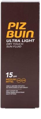 Piz Buin Ultra Light tělový fluid SPF 15 3