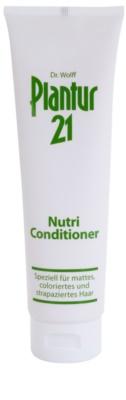 Plantur 21 condicionador nutri-cafeína para cabelo danificado e pintado