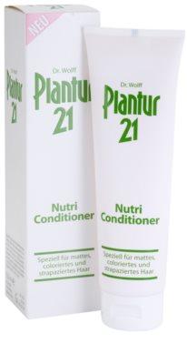 Plantur 21 acondicionador nutri-cafeína para cabello teñido y dañado 2