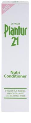 Plantur 21 acondicionador nutri-cafeína para cabello teñido y dañado 3