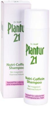 Plantur 21 nutri-kofeinový šampon pro barvené a poškozené vlasy 1