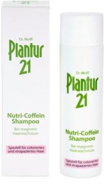 Plantur 21 nutri-kofeinový šampon pro barvené a poškozené vlasy 2