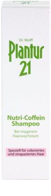 Plantur 21 nutri-kofeinový šampon pro barvené a poškozené vlasy 3
