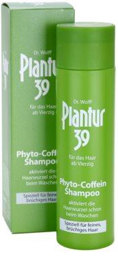 Plantur 39 champô de cafeína para cabelo fino 1