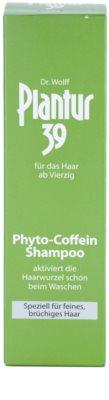 Plantur 39 champô de cafeína para cabelo fino 3