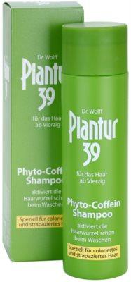 Plantur 39 kofeínový šampón pro farbené a poškodené vlasy 1