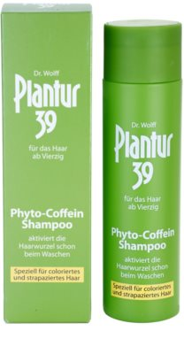 Plantur 39 kofeínový šampón pro farbené a poškodené vlasy 2