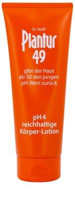 Plantur 49 nährende Bodylotion zum Verjüngen der Haut pH 4