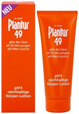 Plantur 49 loção corporal rejuvenescedora nutritiva pH 4 1