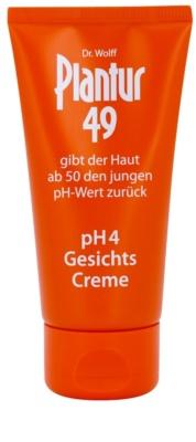 Plantur 49 nährende Creme zur Verjüngung der Haut pH 4