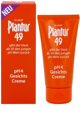 Plantur 49 nährende Creme zur Verjüngung der Haut pH 4 1