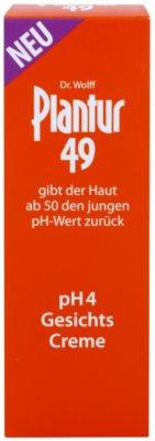 Plantur 49 nährende Creme zur Verjüngung der Haut pH 4 2