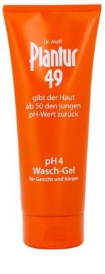 Plantur 49 nyugtató bőrfiatalító tisztító gél arcra és testre pH 4