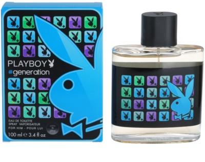 Playboy Generation eau de toilette férfiaknak