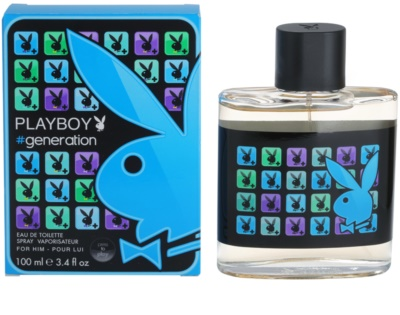 Playboy Generation eau de toilette para hombre