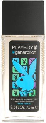 Playboy Generation дезодорант з пульверизатором для чоловіків
