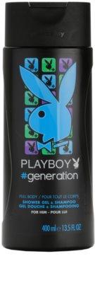 Playboy Generation gel de ducha para hombre