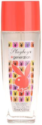 Playboy Generation Deo mit Zerstäuber für Damen